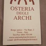 Photo of Osteria degli Archi