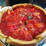 Make your own small deep dish pizza.