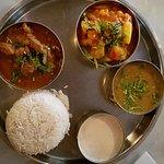 Thali plate (lamb)