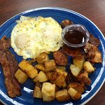 The rest of my $4.99 (!) breakfast...SO good!
