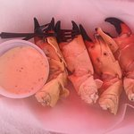 Stone Crab it is all I wanted for lunch!