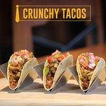Crujientisimos! Crunchy tacos de pollo, res, cerdo y mixtos!