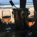 "Vino with a view at ""La Luna"""