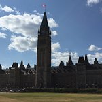 Photo of Parliament Hill and Buildings