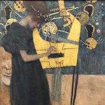 Modern art at Neue Pinakothek - Klimt