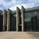 Modern art at Neue Pinakothek - exterior