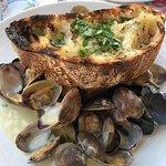 my fresh clams and muscles bowl mmmmmmmm