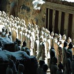 Front line of Terracotta Warriors