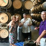 Incredible barrel and bottle tasting at Trespass Winery. Thanks Dan!