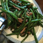 Green bean with shredded pork