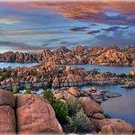 Watson Lake in Granite Dells, Arizona