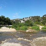 Barrage à Collias