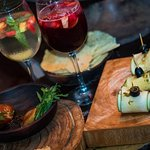 Sangria & small dishes