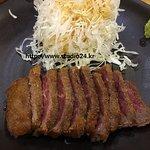 규카츠정식 - 고기 사진