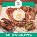 Nasi Goreng Temasek is Straits Kitchen famous dish, inspired by the the Late Sultan of Johor.