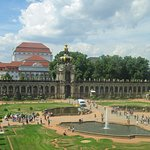 from a window in the gallery, a great look at the Zwinger