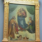Raphael, The Sistine Madonna - note the putti at the bottom