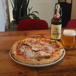 вкусная пицца из не замороженного теста !
