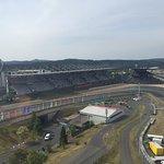 Rennstrecke Grand Prix Kurs aus der Luft