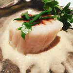 Le Bernardin Scallop – First Course