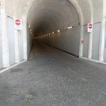 Einfahrt zum Tunnel Wasserkraftwerk