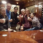 Cheers with Pisco Sour in our Bar Tour