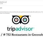Great Job Team! Thanks Lisa for a perfect rating — at At elm st. grill.