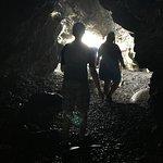 cave at black sand beach