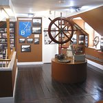 Interesting small Museum above the shop at Hartland Quay, has displays on shipwrecks along the c