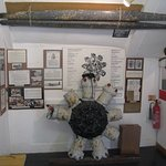 Display in the little Museum at Hartland Quay, there is a small entrance fee.