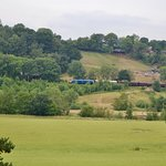 View across the Severn Valley from the arboretum.
