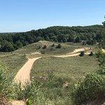 Overlooking part of the dunes.
