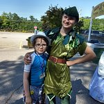 Quick Meet with Peter Pan Prior to Park opening