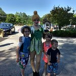 Quick Meet with Tinker Bell Prior to Park opening