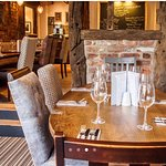 Restaurant area where we offer full table service