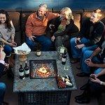 Newsome Harlow Wines outdoor patio | Jason B Smith