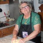 Suzanne making gnocchi