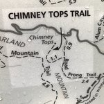 Chimney Tops Trail Foto