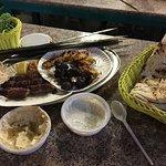 Dinner in the souk