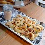 Tintenfisch mit Kimchi_mayonnaise