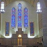 Inside the campus church