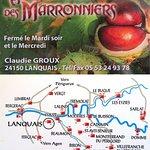 Foto van Auberge des Marronniers