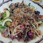 Duck salad - yum!