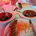 Kabob and authentic Persian foods