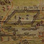 Carte du Fleuve Rouge détail vers 1880