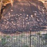 Petroglyphs everywhere.