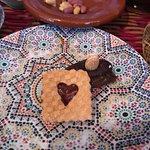 Moroccan cookies, Tajine Wa Tanjia, Rabat, Morocco