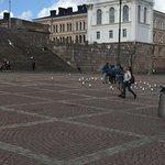 Area surrounding the Helsinki Church!