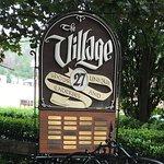 Village Shops sign features 27 shops