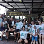 Big family out on day trip at Klong Kone with Thai Happy Taxi